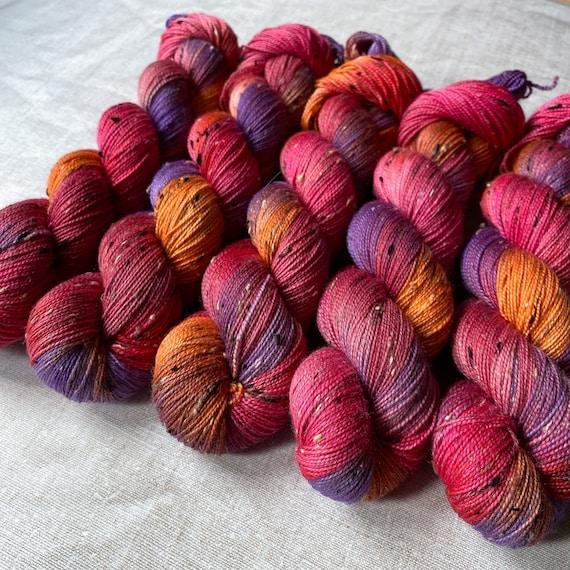 Donegal Tweed Sock Yarn - Merino/Nylon - They Fiesty