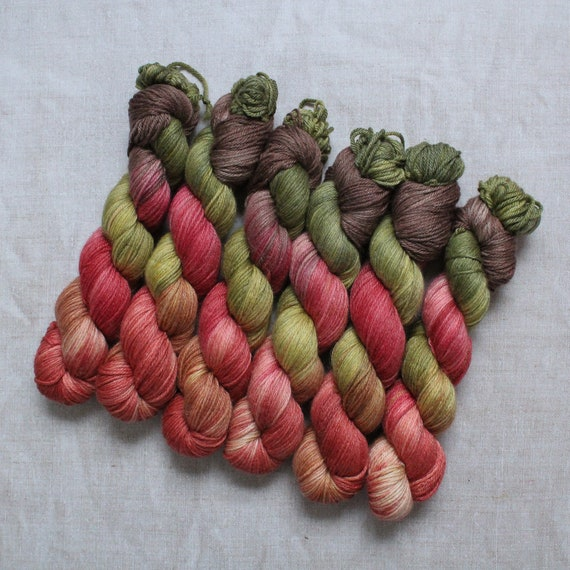 DK Yarn, Merino and Bamboo - Pure Autumn