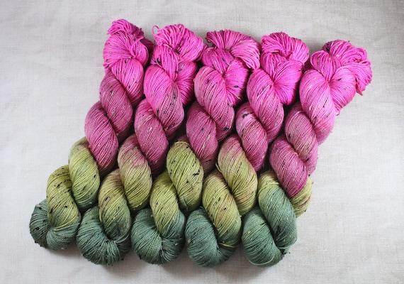 Donegal Tweed Sock Yarn - Merino/Nylon - Ladygarden