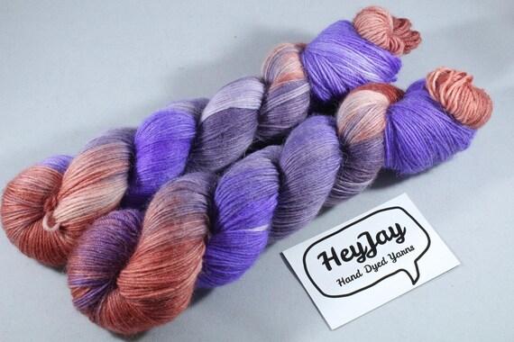 SALEITEM Hand Dyed Alpaca/Merino/Nylon Sock Yarn - Harvest Pie