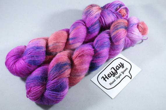 Hand Dyed Alpaca/Merino/Nylon Sock Yarn - Firecracker