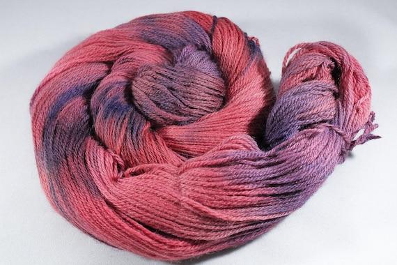SALE ITEM Hand Dyed 4ply Yarn Merino - Goji Berry