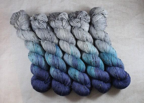Donegal Tweed Sock Yarn - Merino/Nylon - Newlyweds and Nearly Deads