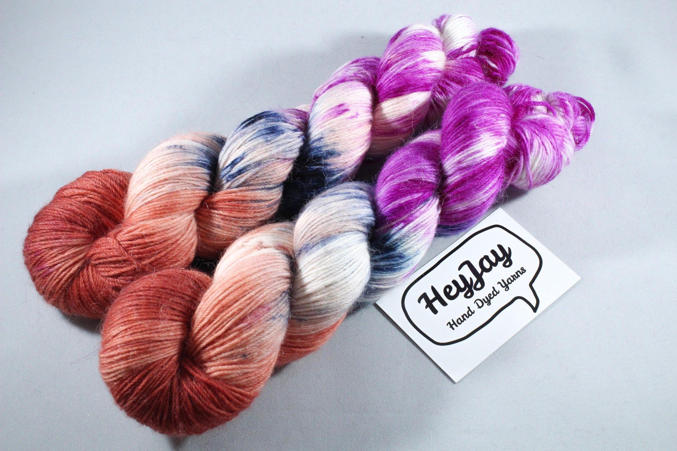 Sprinkle Dyed Sock Yarn