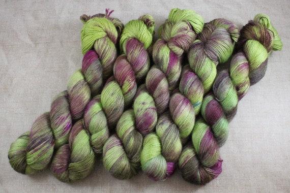 Silky Alpaca Fingering Weight, 4ply, Yarn - Bramble
