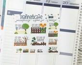S-506 || SEASONS Decorative Planner Stickers photo