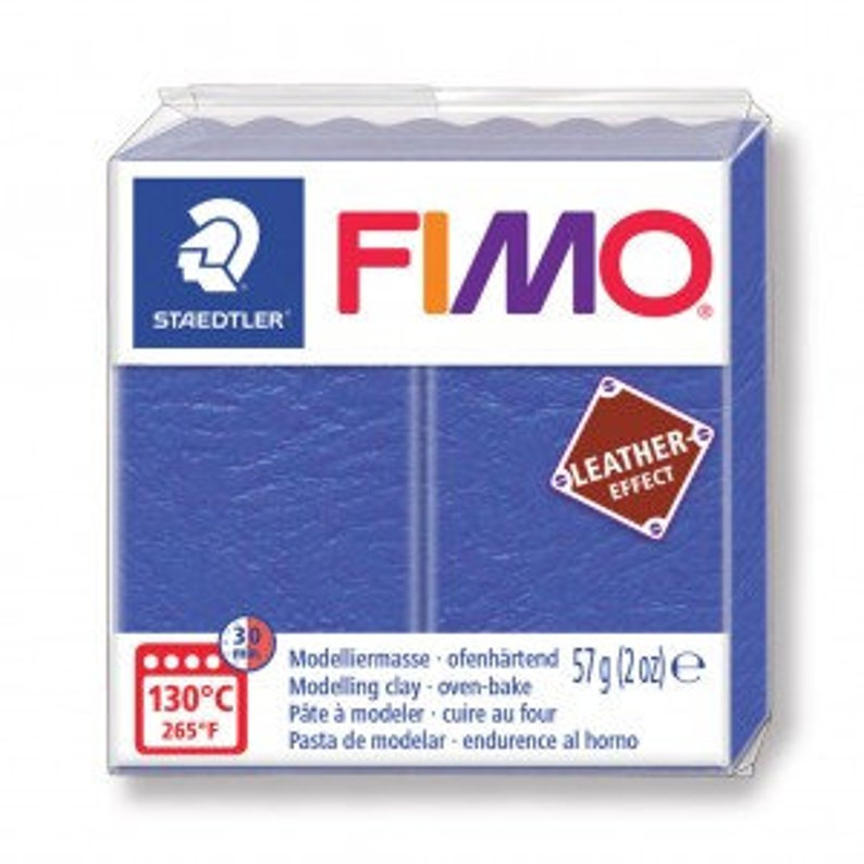 leather-effect fimo paste