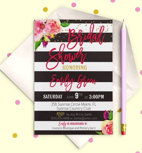 Digital bridal shower invitation chalkboard blush pink bridal etsy image 0 filmwisefo