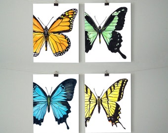Butterfly Blank Greeting Cards (Set of 4)