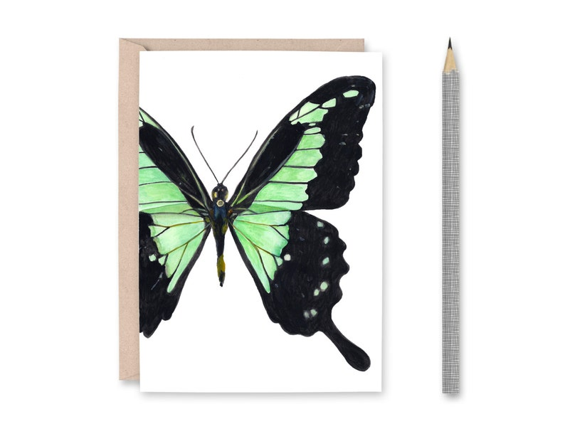 Butterfly Blank Greeting Card image 0
