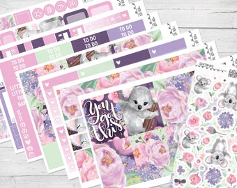 "8 PAGE FULL KIT | ""You Got This"" Glossy Planner Sticker Kit 