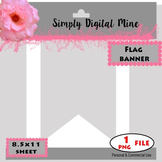 you design flag banner templates etsy