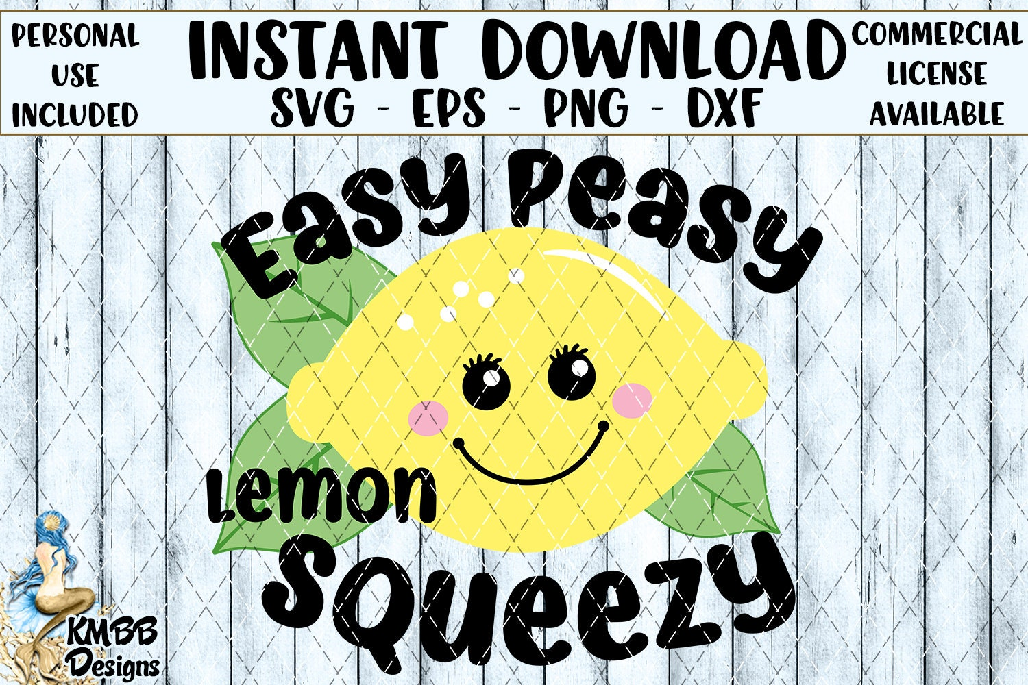 Instant Download Personal Use Easy Peasy Lemon Squeezy | Etsy