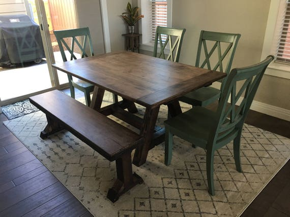 Custom Farmhouse Tables | Etsy