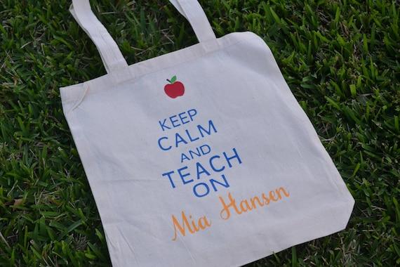 personalized teacher tumbler personalized tote bag personalized gift tote bag and water bottle set teacher tote bag and tumbler set
