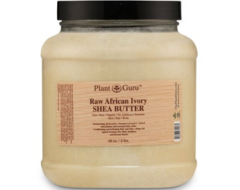 Radha Beauty Unrefined Shea Butter 1 lb Premium Ivory Shea Butter for DIY Skin Care Recipes Stretch Marks and Delicate Baby Skin 16 oz Eczema Dry or Acne-Prone Skin