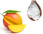 Mango Butter 100 Pure Organic Raw Unrefined Great For Skin, Body, Face, Hair All Available Sizes 1 oz. to 55 lbs. Bulk
