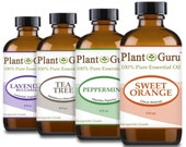 Pure Essential Oils Bulk 4 oz. 100 Therapeutic Grade Natural CHOOSE FROM 75 Scents Fragrances Free Shipping Buy 4 Save 15 Percent