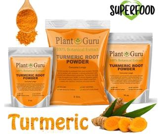Turmeric Root Powder Pure Organic Natural Curcuma Longa Tumeric Spice Herb Bulk