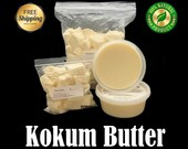 Raw Kokum Butter 100 Pure Organic Great For Skin, Body, Face, Hair ALL SIZES Available in 1 oz. to 55 lbs. Bulk