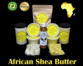 Raw African Shea Butter Organic 100 Pure Unrefined Virgin From Ghana. Great For Skin, Body, Face, Hair ALL SIZES 1 oz. to 25 lbs. Bulk