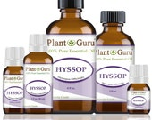 Hyssop Essential Oil 100 Pure, Undiluted, Therapeutic Grade.