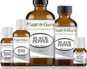 Black Pepper Essential Oil 100 Pure, Undiluted, Therapeutic Grade.