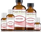 Thyme Essential Oil 100 Pure, Undiluted, Therapeutic Grade. Best Aromatherapy Oils