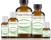 Citronella Essential Oil 100 Pure, Undiluted, Therapeutic Grade.