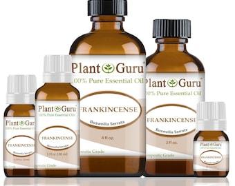 Frankincense Essential Oil (Boswellia Serrata) 100% Pure, Undiluted, Therapeutic Grade. Best Aromatherapy Oils