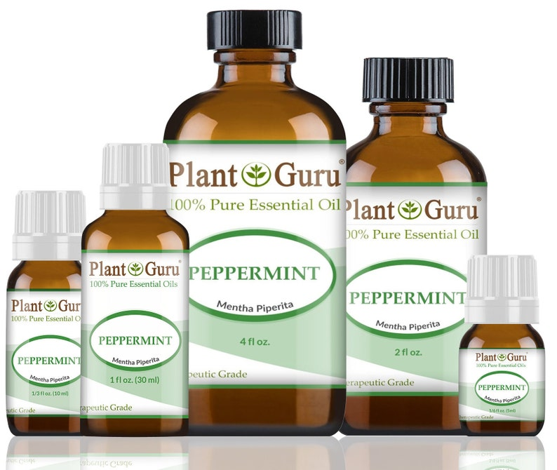 Peppermint Essential Oil  100% Pure Undiluted Therapeutic image 0
