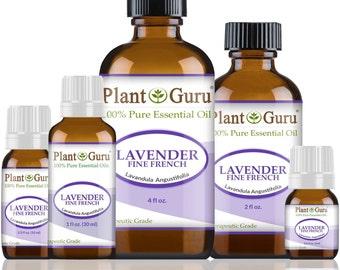 Lavender Essential Oil Fine French High Altitude 100% Pure, Undiluted, Therapeutic Grade.