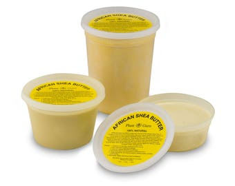 Raw African Shea Butter Organic 100% Pure Unrefined Virgin From Ghana. Great For Skin, Body, Face, Hair Available in 8 oz, 16 oz and 32 oz.