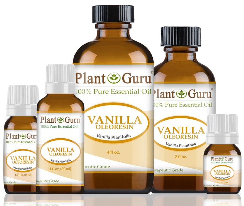 Vanilla Essential Oil 10 Fold Oleoresin 100% Pure Undiluted image 1