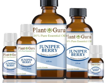 Juniper Berry Essential Oil  100% Pure, Undiluted, Therapeutic Grade.