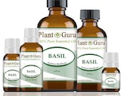 Basil Essential Oil 100 Pure, Undiluted, Therapeutic Grade. Best Aromatherapy Oils