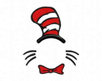 Cat Hat Monogram Etsy