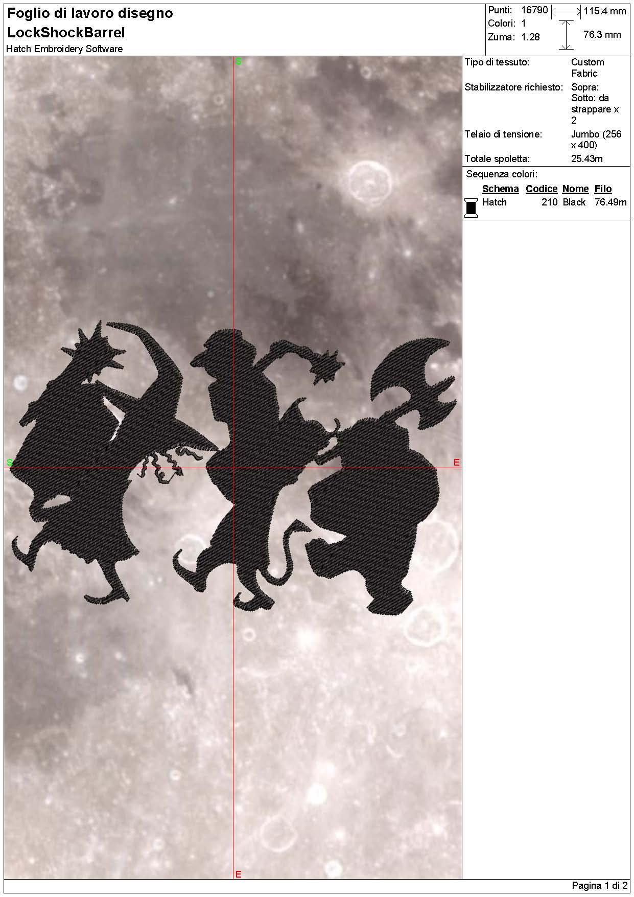 Embroidery machine Halloween design silhouette Nightmare | Etsy