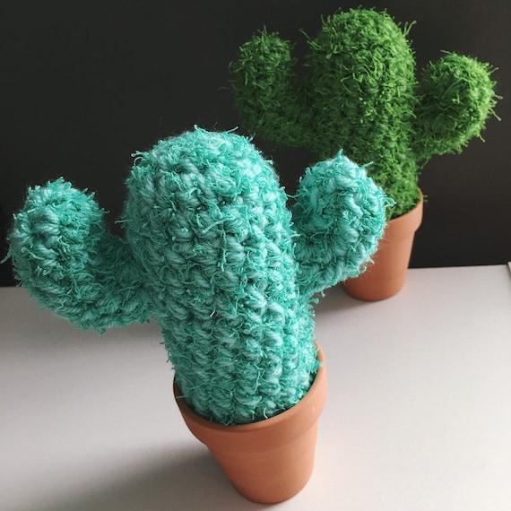 Beugen Kaktus Spikey Kaktus Häkeln Kaktus Sukkulenten Etsy
