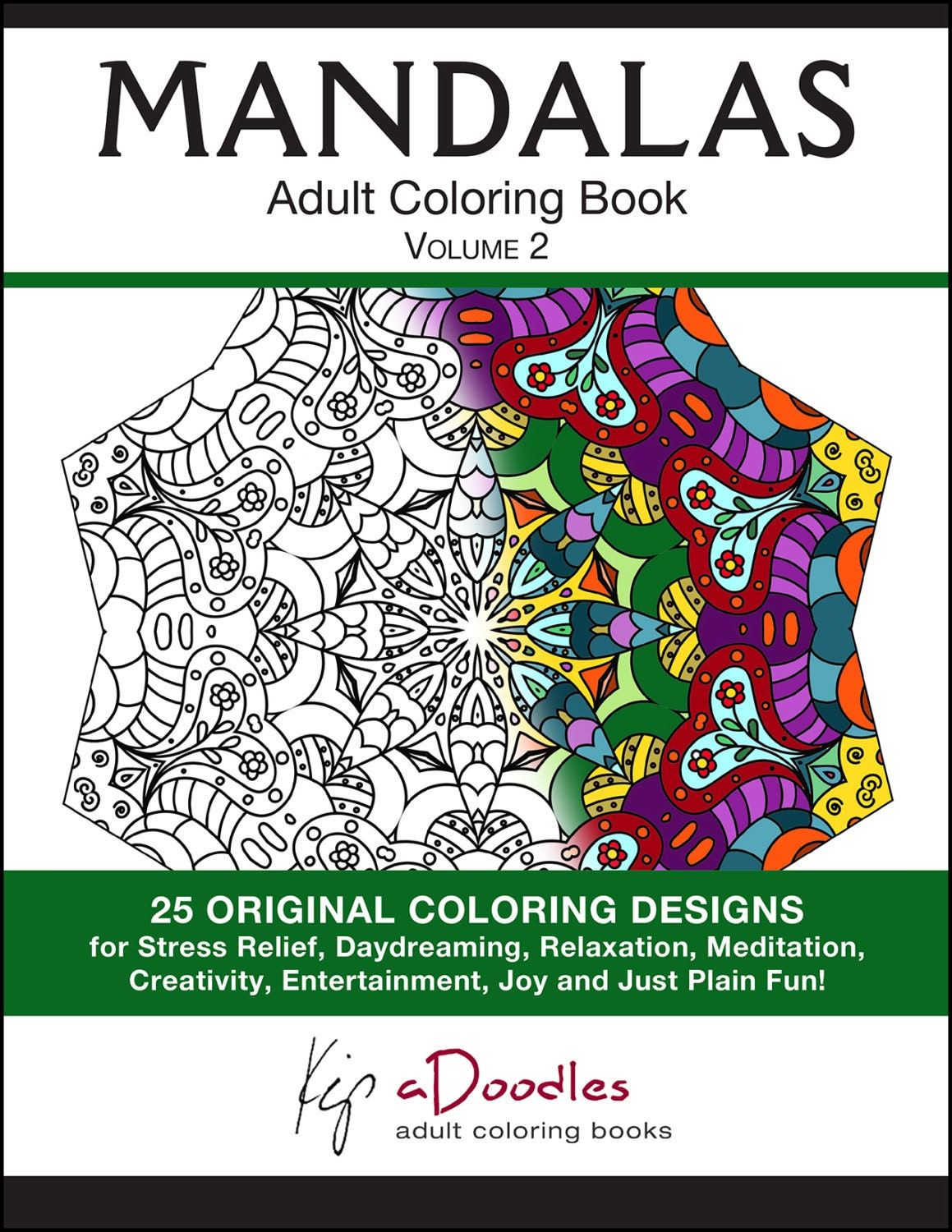 Mandala Coloring Pages For Adults PDF INSTANT DOWNLOAD