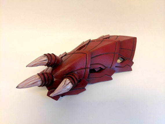 Monster Hunter World Odogaron Forearm Armor Cosplay Pattern Etsy