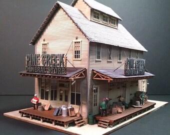 HO-scale Pine Creek General Store Kit