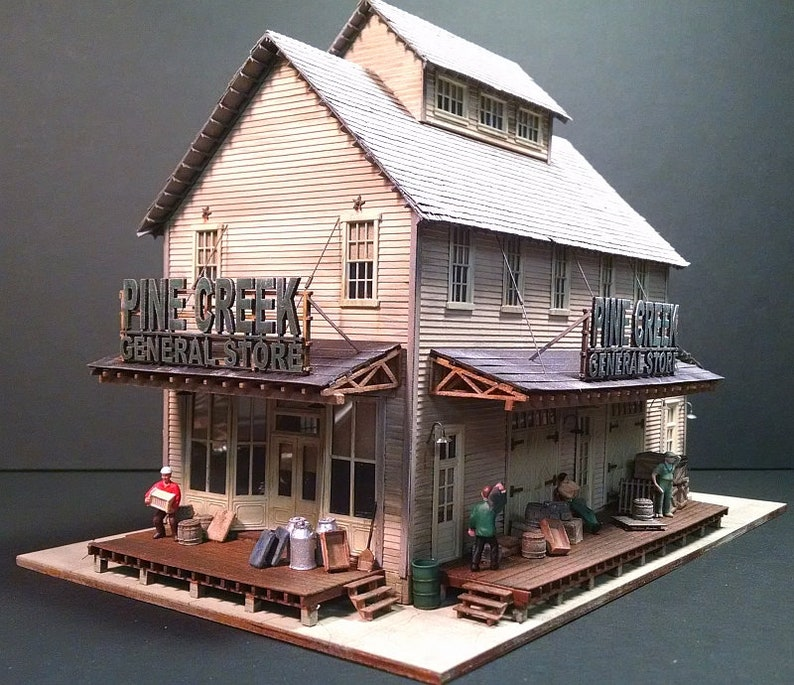 HO-scale Pine Creek General Store Kit image 0