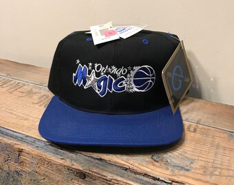 on sale d2b9e a850c Vintage Orlando Magic hat    deadstock new old stock    adjustable strap     The G Cap    nba basketball two tone    rare retro throwback