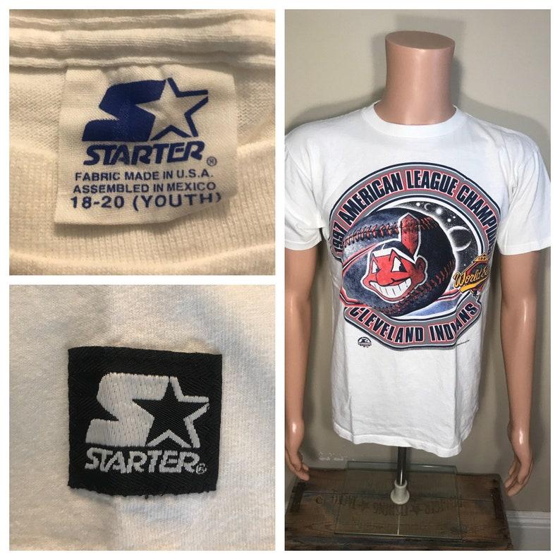 d0b9d530 Vintage Cleveland Indians shirt // Chief wahoo // big logo // | Etsy