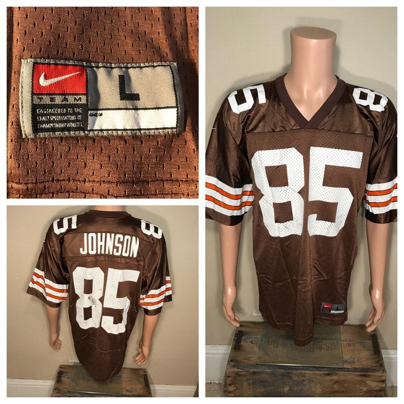 Vintage Cleveland Browns jersey Kevin Johnson 85 jersey | Etsy