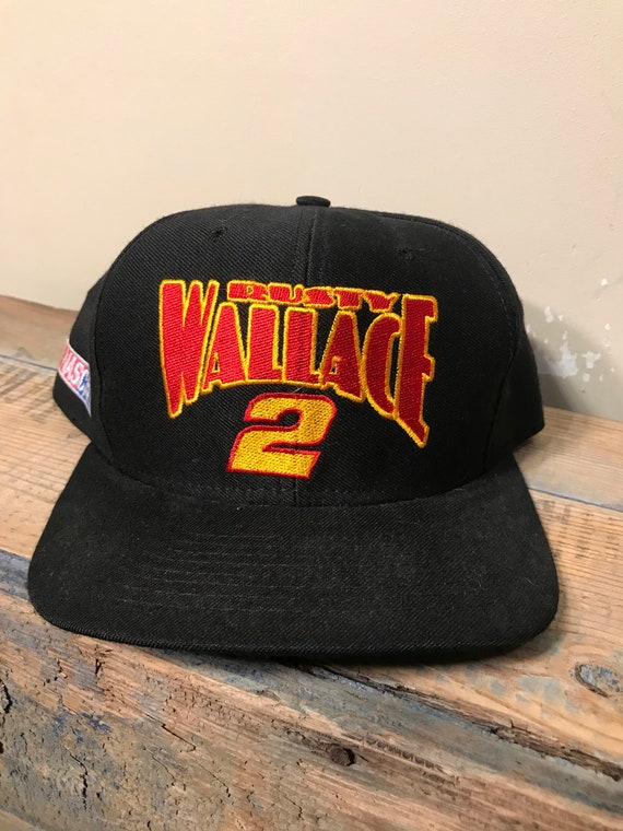 Vintage Rusty Wallace hat    Miller genuine Draft racing team  2d0e640a69d1