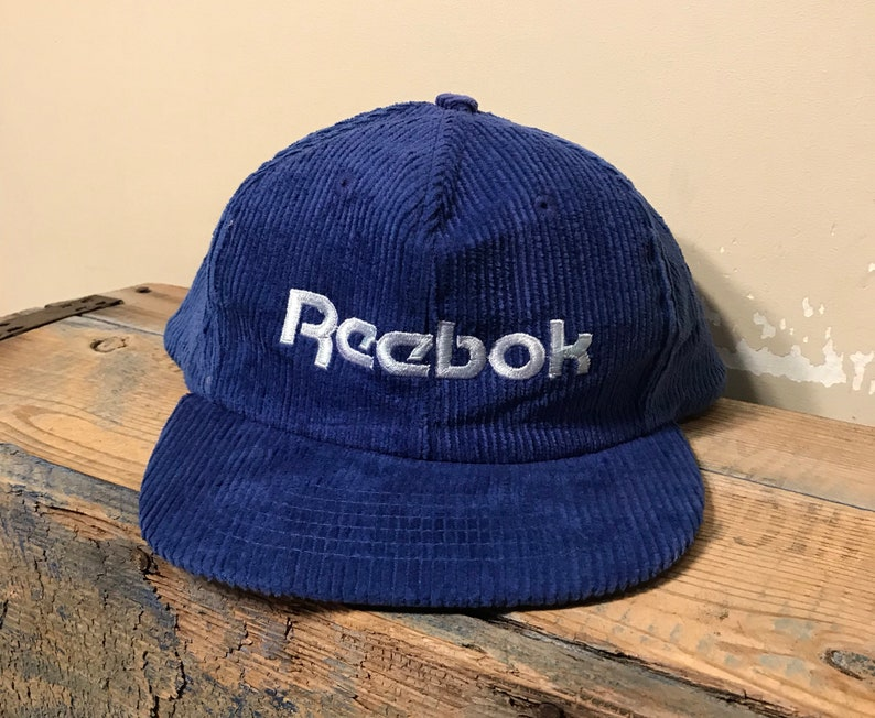 Vintage Reebok Corduroy hat // adult size adjustable cap // image 0