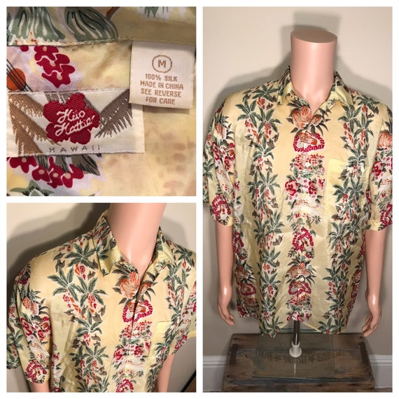 f20c9bda Hilo Hattie Hawaiian shirt // vintage made in Hawaii // adult | Etsy