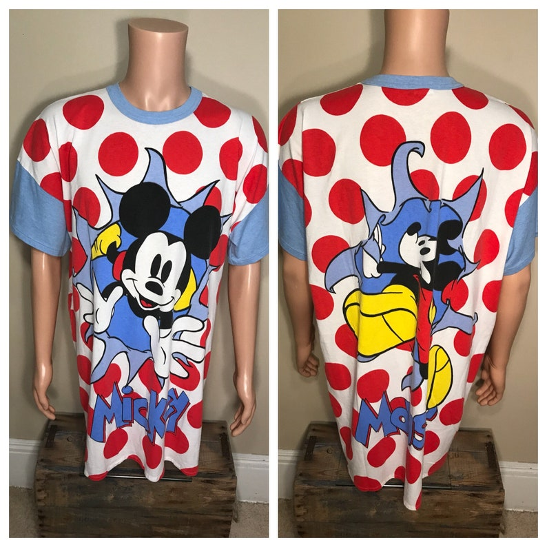 Mickey   Co.    vintage mickey mouse oversized night Tshirt  2cfcb3078b2d